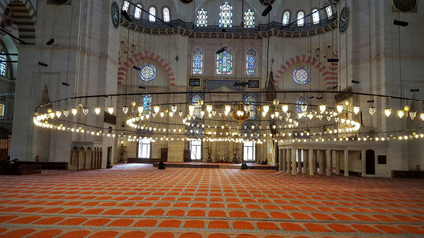 Süleymaniye Moschee Innen