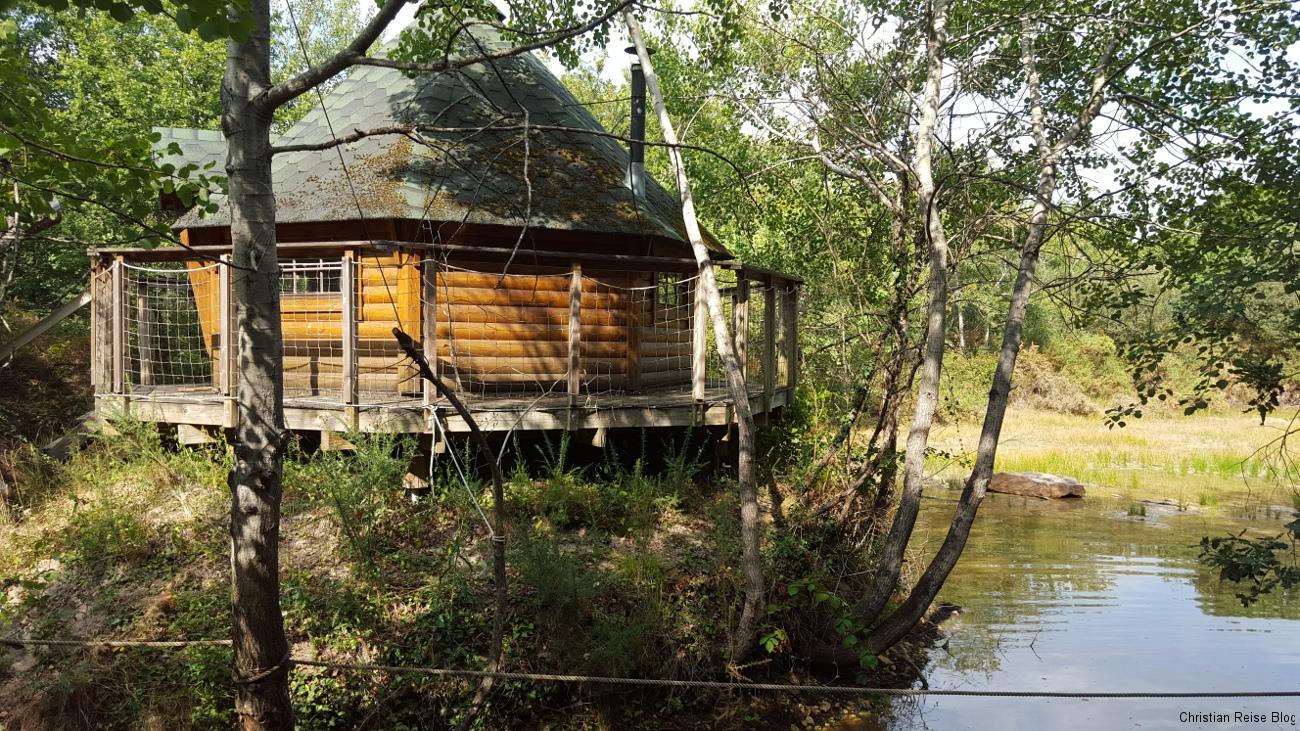 Inselhütte in Domaine du bois davy