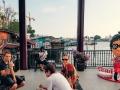 Am Maharaj Pier in Bangkok