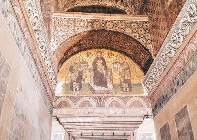 Eingang der Hagia Sophia