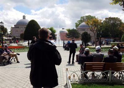 Brunnen vor der Hagia Sophia