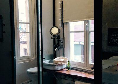 ein Bad im Apartment Istanbul