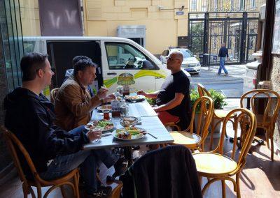 Frühstück im Parole Istanbul