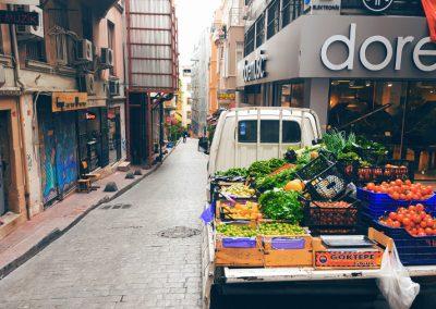 Istanbul Gemüsehändler