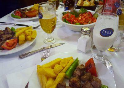 Kebab im Asmali Restaurant