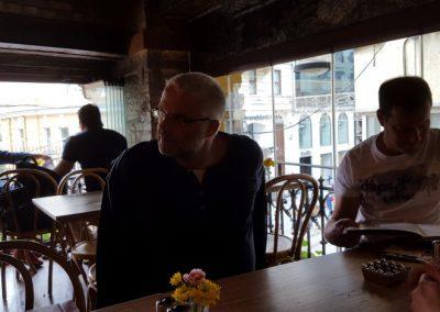 Schalli und Jochen im Parole in Istanbul