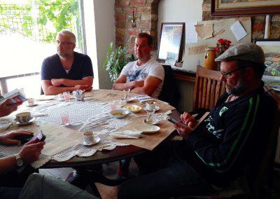 Stammtisch beim Frühstück in Istanbul