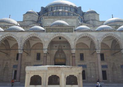 Sueleymaniye Moschee Eingang