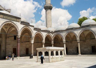 Sueleymaniye Moschee Hof