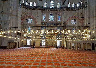 Sueleymaniye Moschee innen