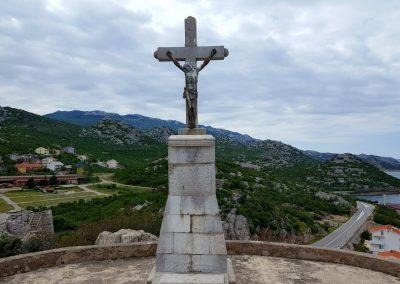 Gipfelkreuz in Sveti Juraj