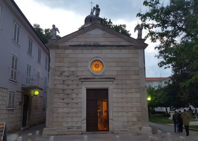 kleine Kirche Zadar