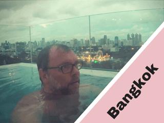 Bangkok im Infinity Pool