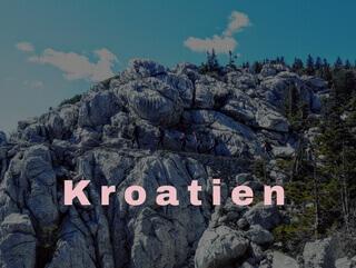 Kroatien Nationalpark Velebit