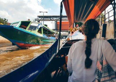 Longtailboot in Bangkok