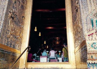 Blick auf Smaragd Buddha
