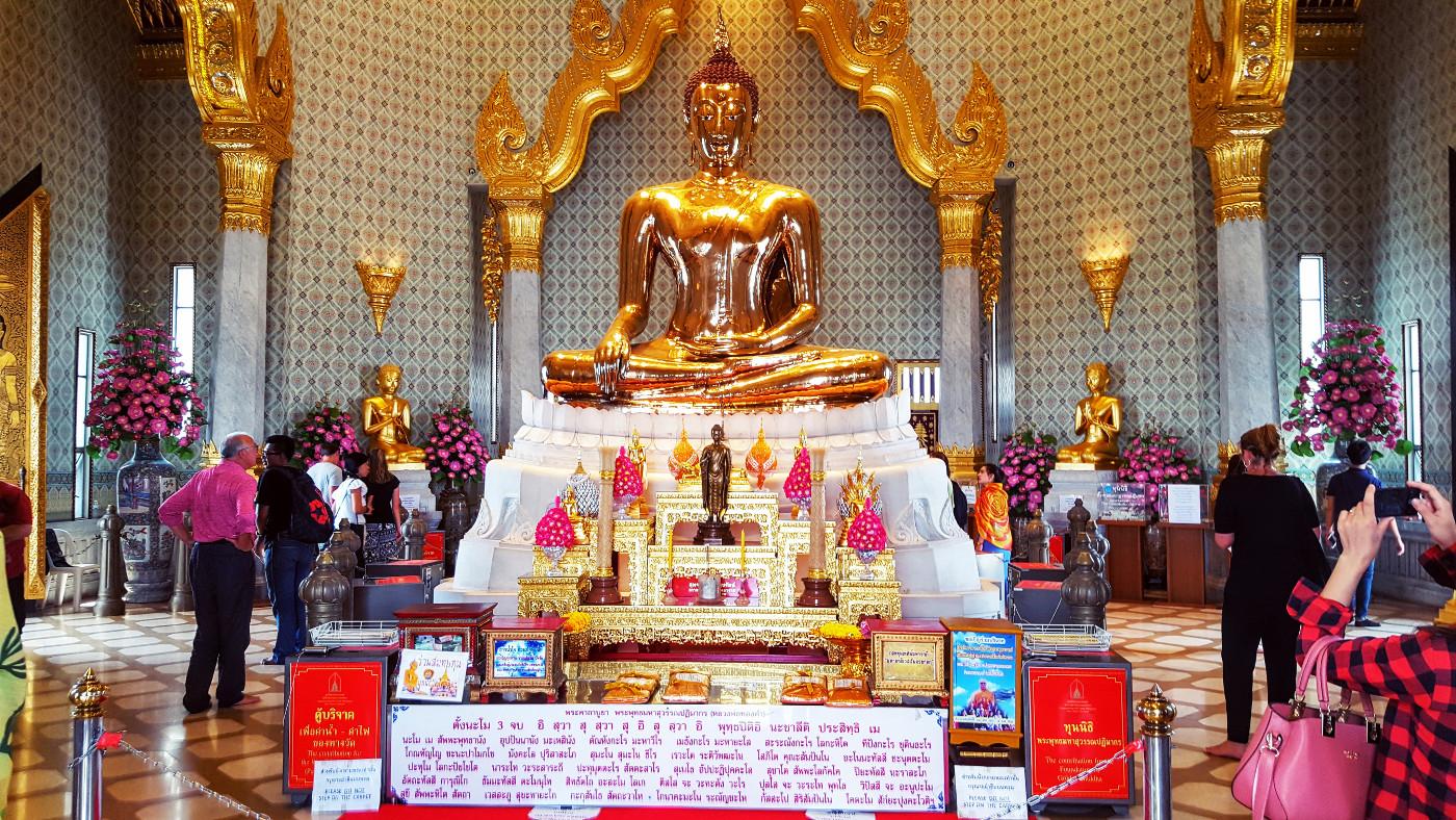 Goldener Buddha Wat Traimit