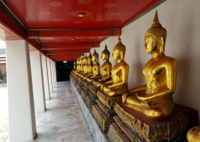 Buddhas im Wat Pho