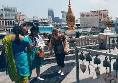 Blick vom Wat Traimit