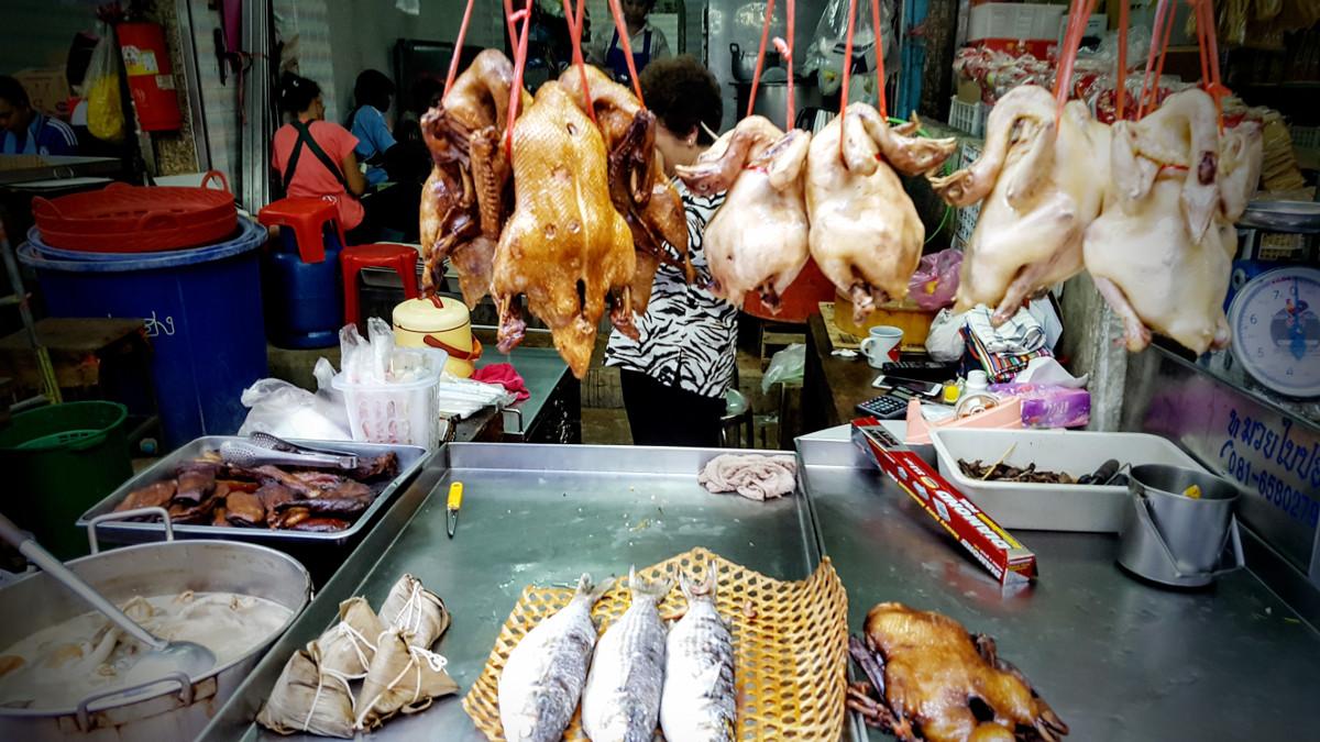 Fisch Huhn Market Chinatown