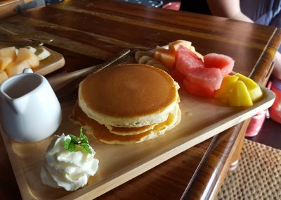 Frühstück im Loy La Long Hotel in Bangkok