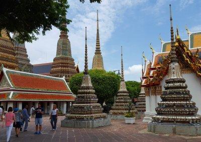 Innenhof im Wat Pho