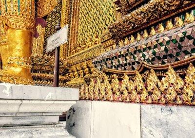 Gold im Wat Phra Kaeo