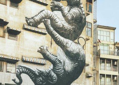 Grafitti in Bangkok