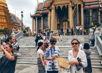 Innenhof im Wat Phra Kaeo