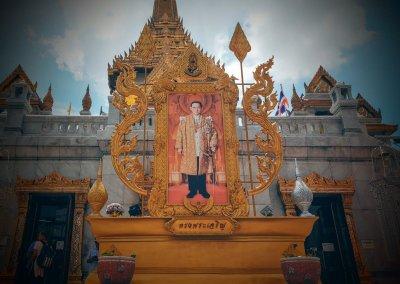 König am Wat Traimit