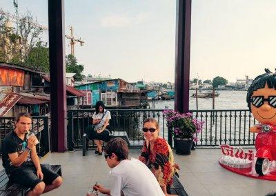 Maharaj Pier in Bangkok