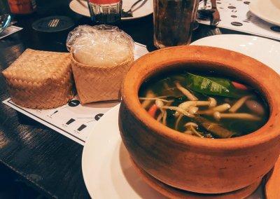 Pilzsuppe red dine Bangkok