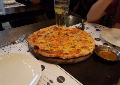 Pizza im red Dine in Bangkok