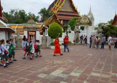 Schulklasse im Wat Pho
