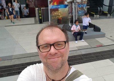 Freches Selfie von Christian im Siam Center