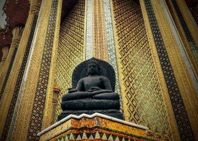 Statue am Wat Phra Kreao