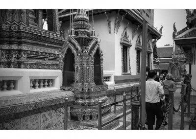 Denkmal im Wat Phra Kaeo