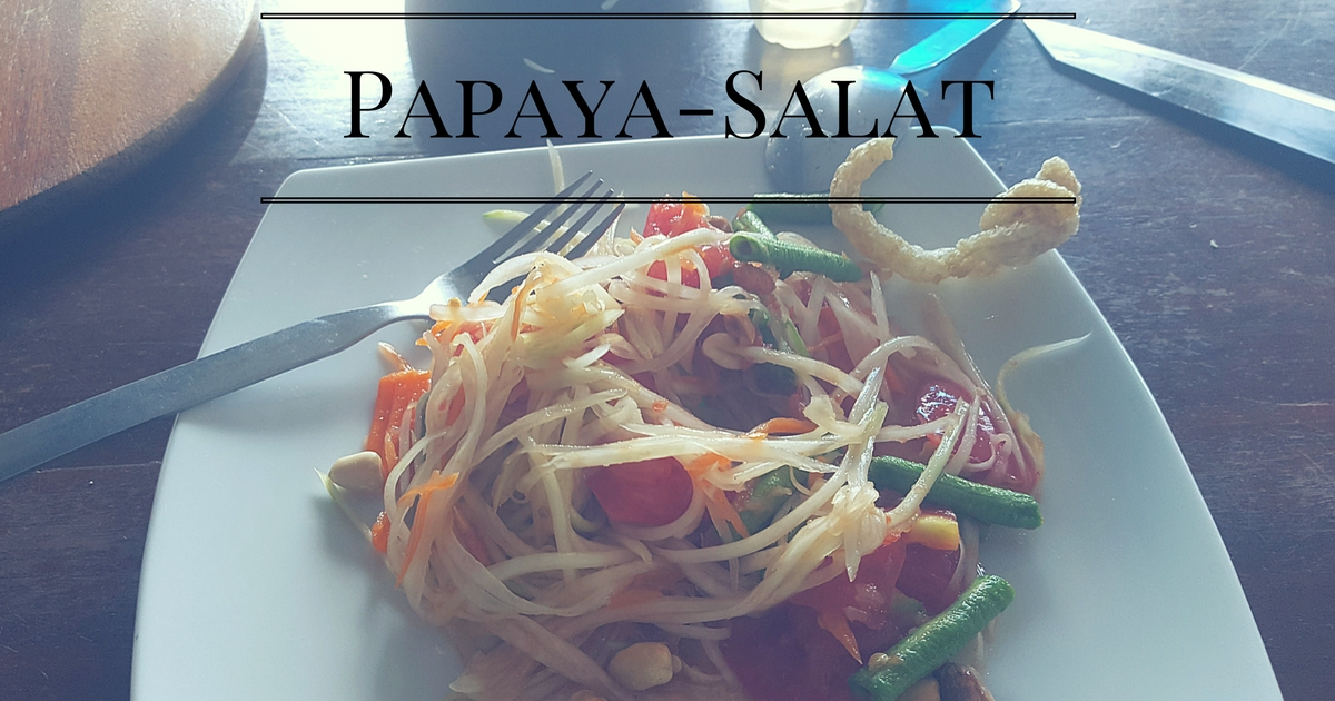Papaya-Salat