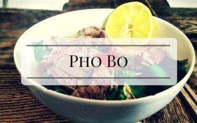 Pho Suppe kochen mit Emma