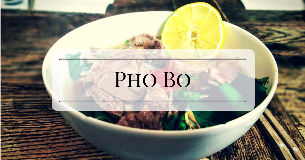 Pho Suppe kochen