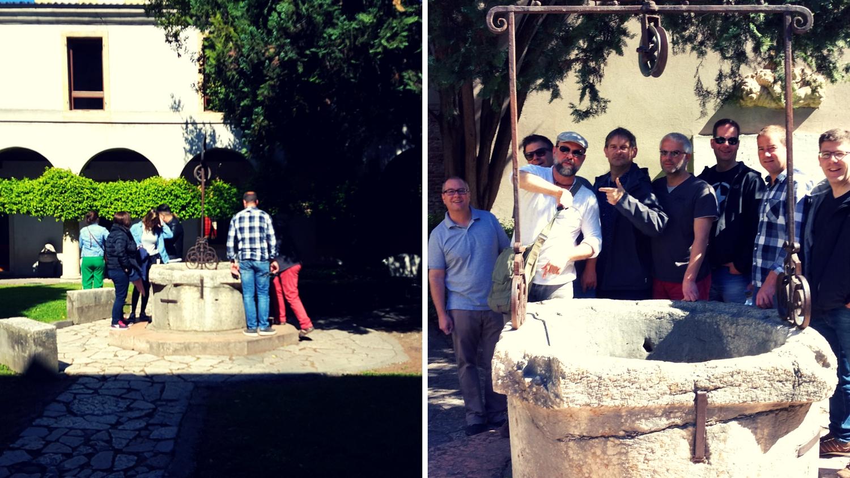 Brunnen an Julias Grab