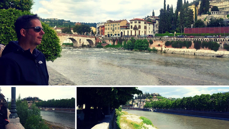 Etsch in Verona