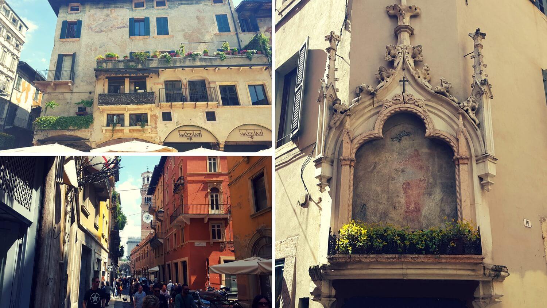 Häuser in Verona
