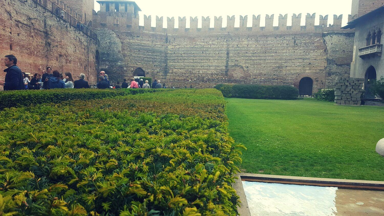 Innenhof des Castelvecchio