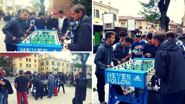 Kicker Deutschland gegen Italien