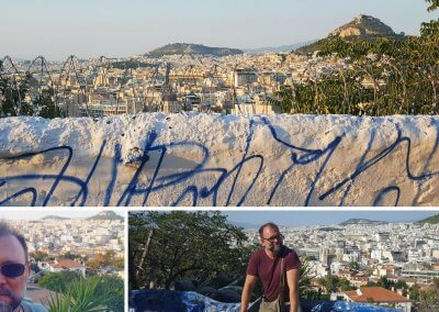 Aussichtspunkt in Athen