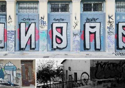 Graffiti in Athen