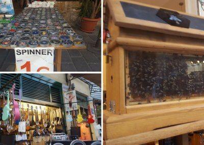 Shops in der Plaka von Athen
