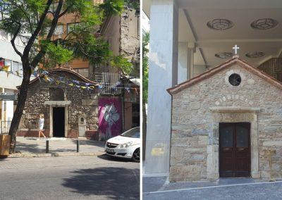 Kapellen in Athen