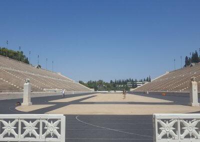 Das Panathinaiko-Stadion in Athen